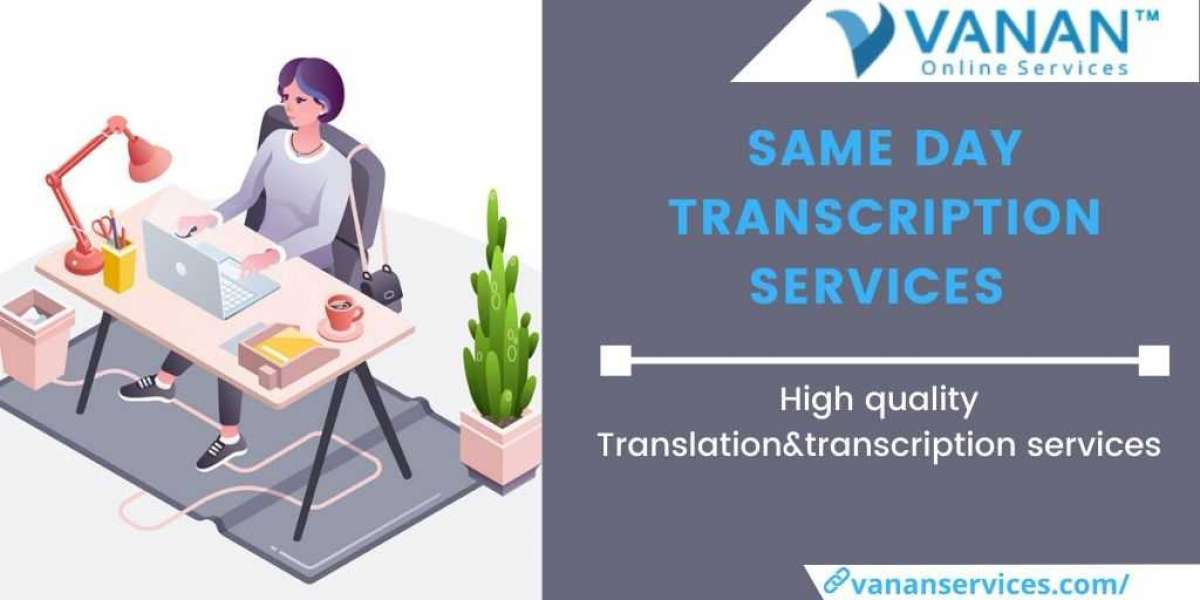 5 Important Way To Transcribe a Video File Using Same Day Transcription Services from Vanan Services