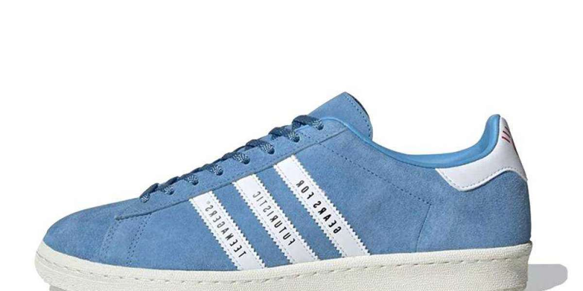 Buy Human Made x adidas Campus Aqua Blue