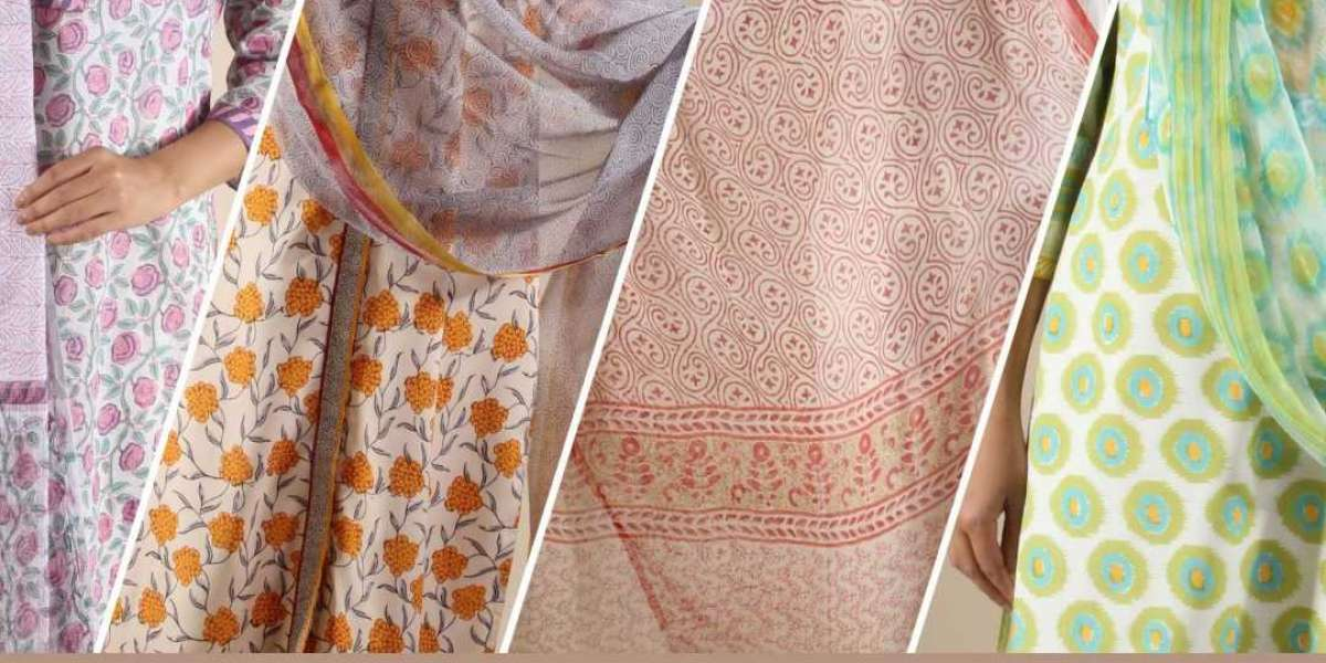 Is Your Wardrobe Summer Ready With The Latest Designs Of Block Printed Clothes?