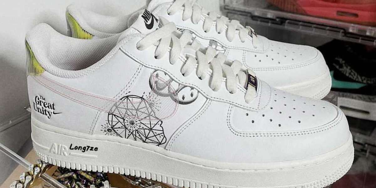 New 2021 Nike Air Force 1 Low The Great Unity Sneakers