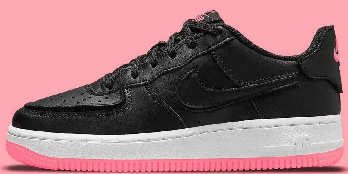 Newest Nike Air Force 1/1 Releasing With Black And Hyper Pink
