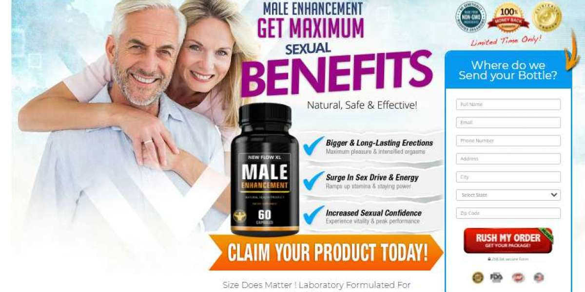 New Flow XL Review 2021: Male Enhancement Pills Price in USA