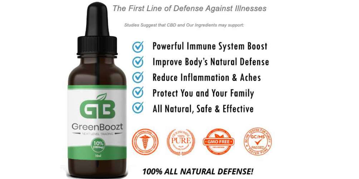 Green Boozt CBD Oil - How Does It Works?