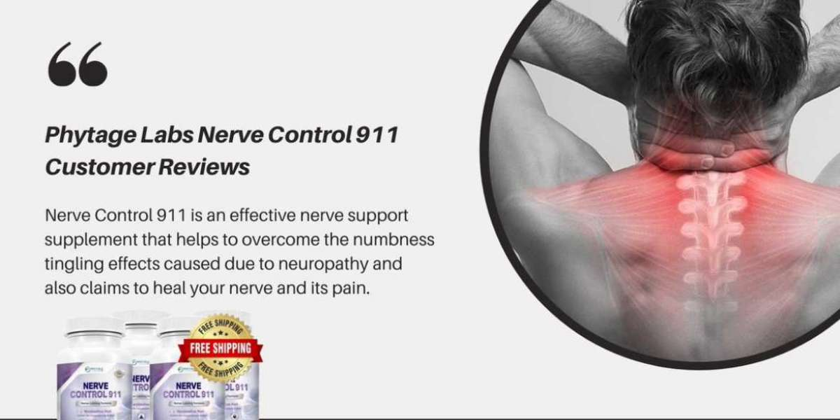 Nerve Control 911 Reviews & Vital Benefits - Look This!