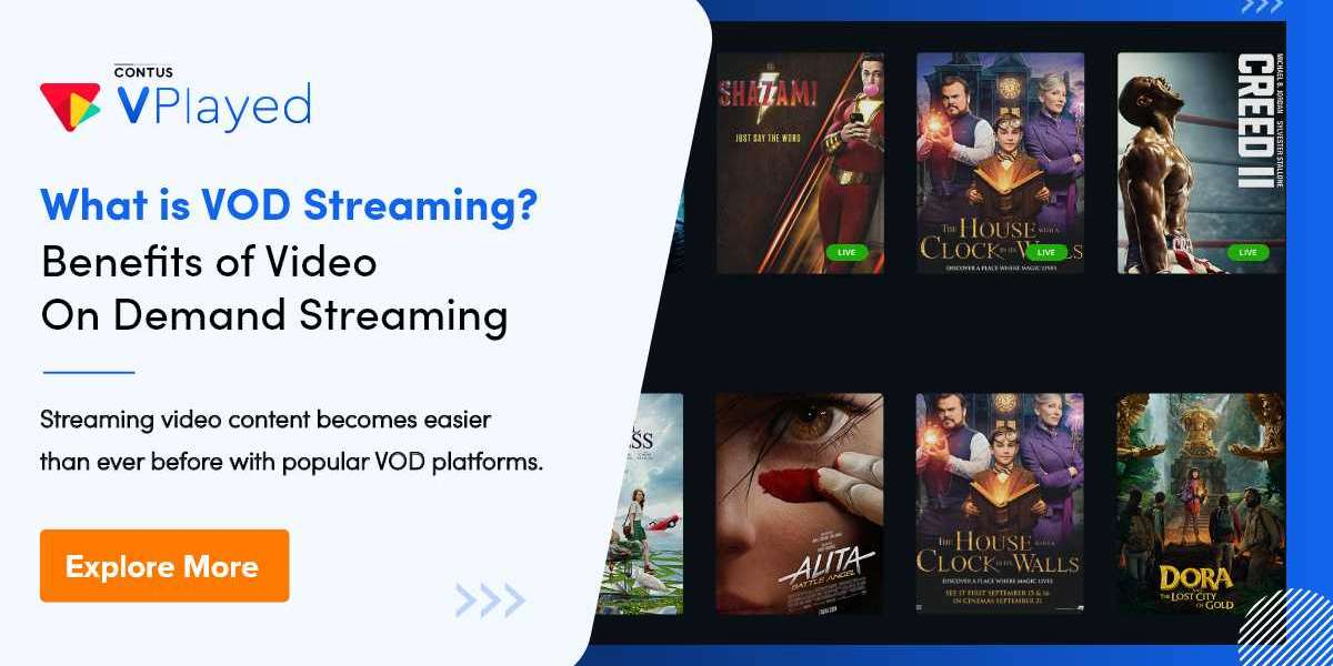 What is VOD Streaming? Benefits of VOD Streaming