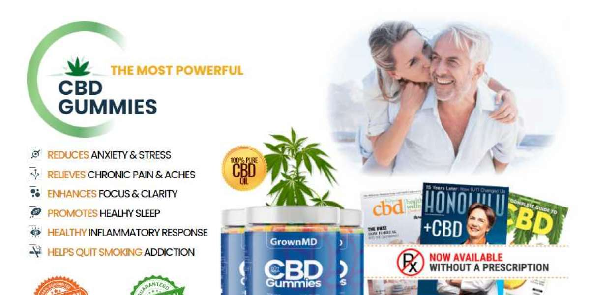 GrownMD CBD Gummies Reviews – Does It Really Work Or Its Scam?