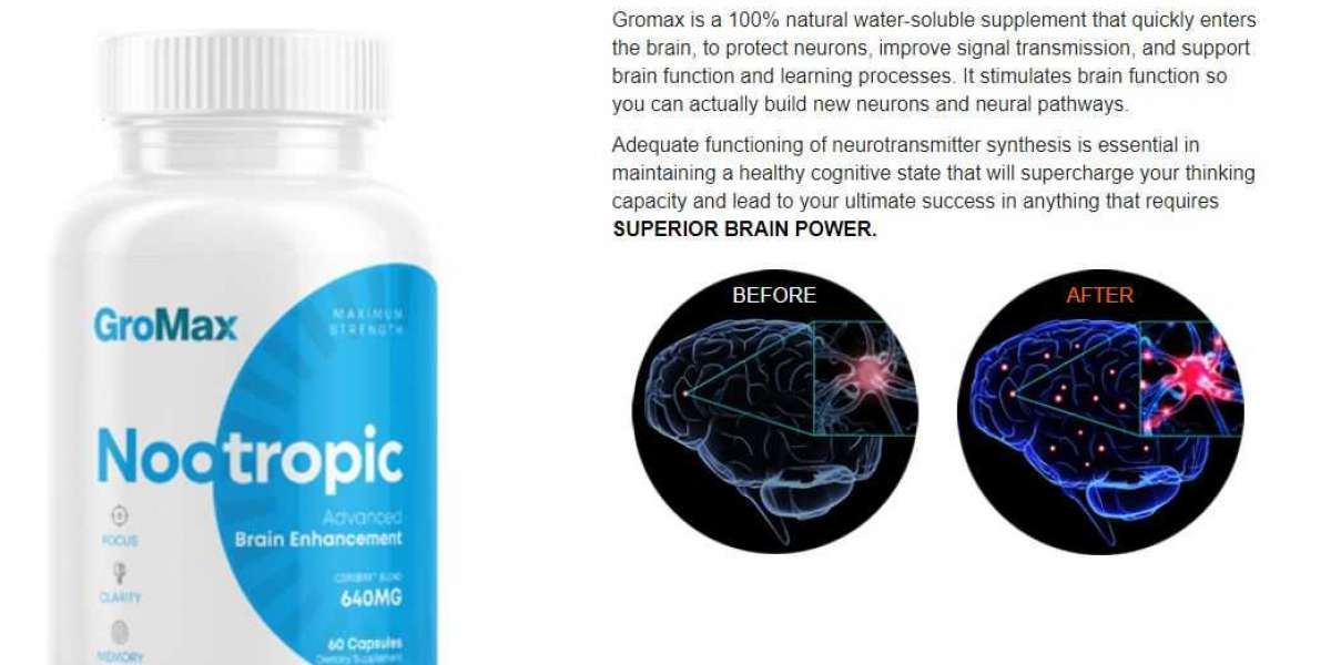 GroMax Nootropic - Benefits, Cost, Scam, And Buy!