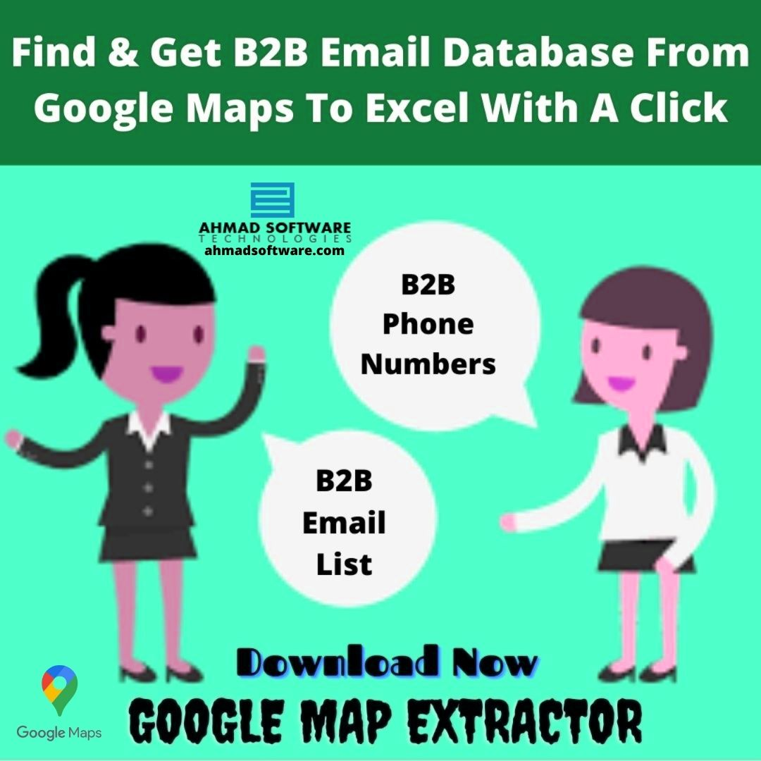 How can I Scrape B2B email database from Google Maps? - AtoAllinks