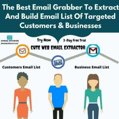 Email Scraper - Email Grabber - Email Extractor - Email Finder - Email Search Tool Profile Picture