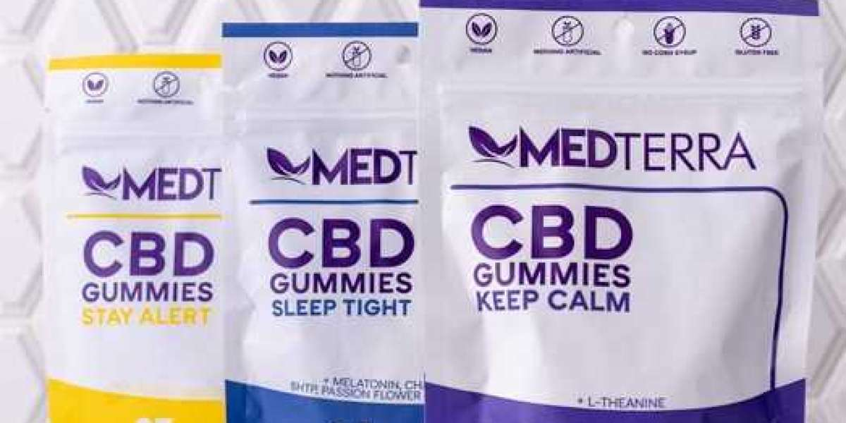 How do Medterra CBD Gummies help with weight loss along with keeping mental health better?