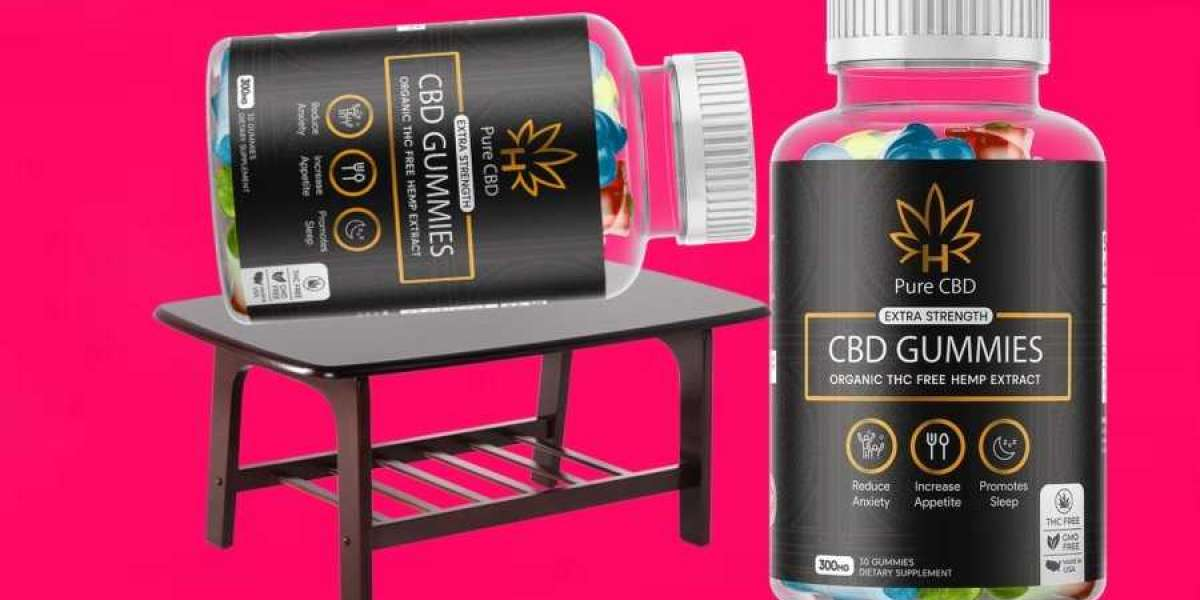 Pure CBD Gummies Extra Strength [100% THC FREE] - Is It Real Or Risky?
