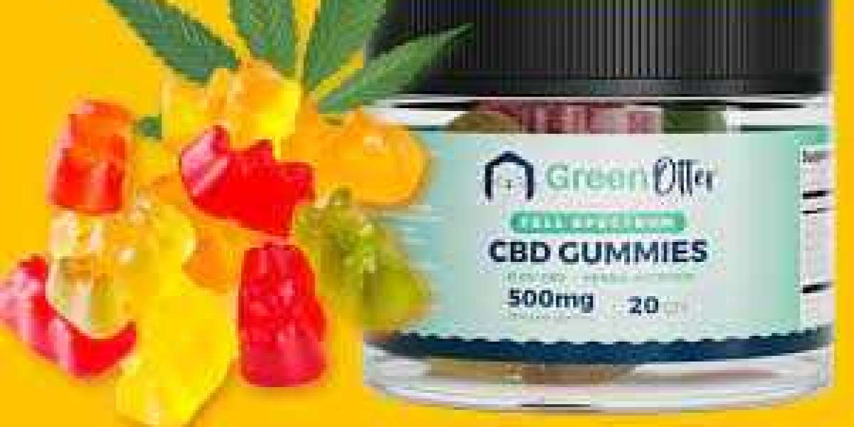 What Are The Green Otter CBD Gummies Ingredients?